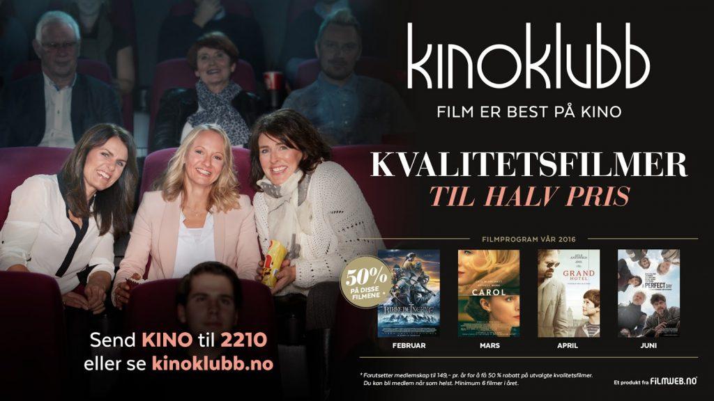 Kinoklubben - doubling in size.
