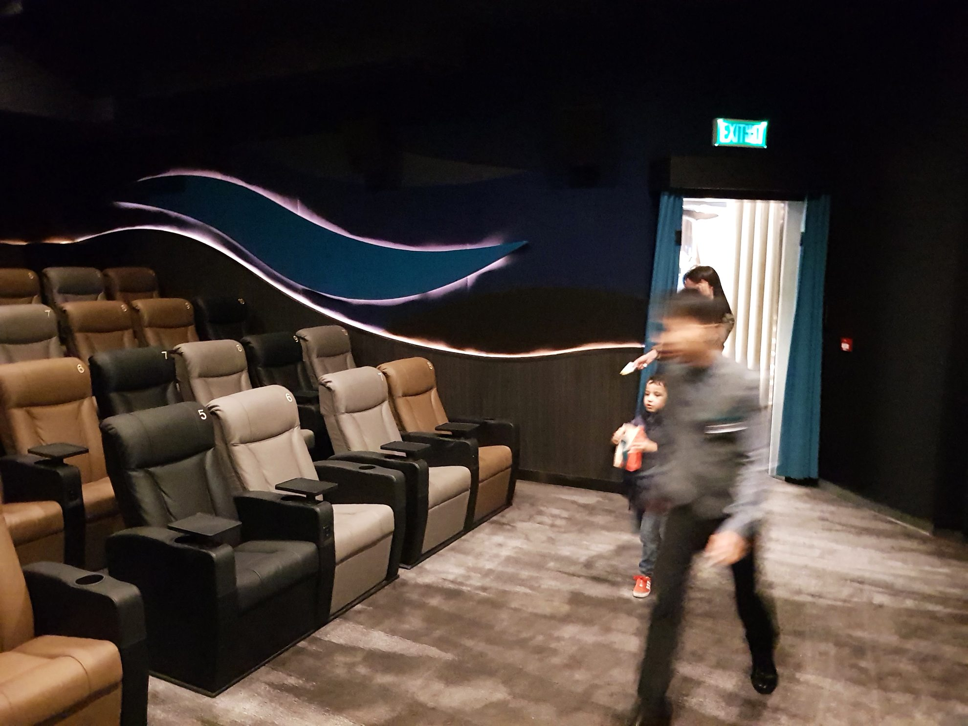 Auditorium at the Emperor Cinemas in Hong Kong