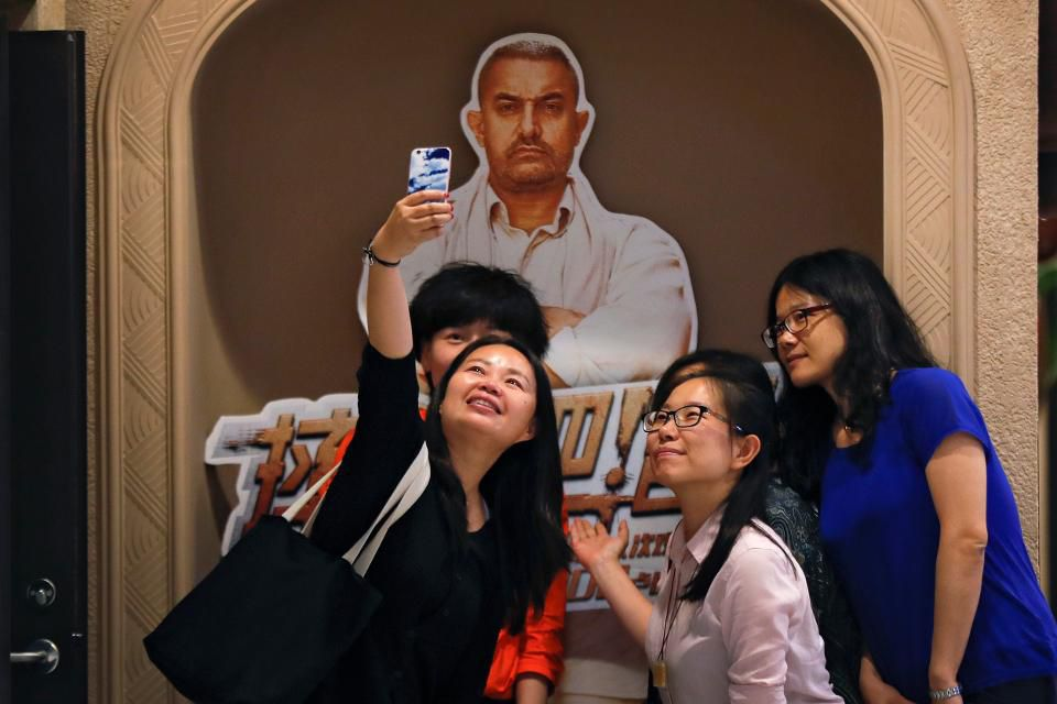 Aamir Khan is popular in China. (photo: Forbes)