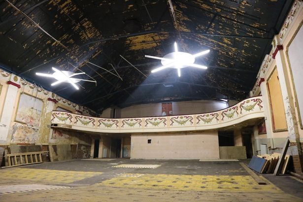 The Grand Electric Cinema, in Ryhope, Sunderland, before its move to Beamish Museum (photo: Beamish Museum)