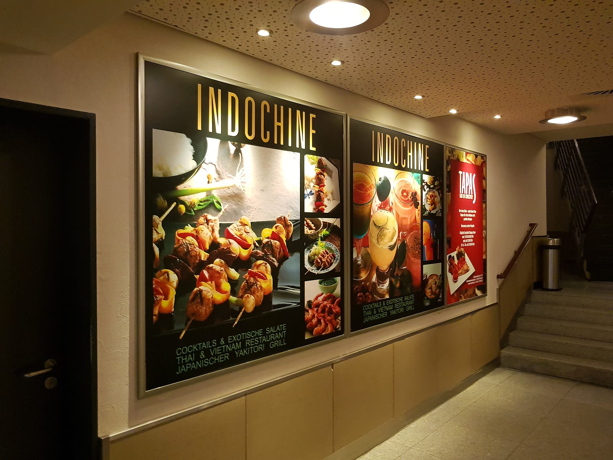 Indochine Sign at the Cinecittà in Nuremberg, Germany