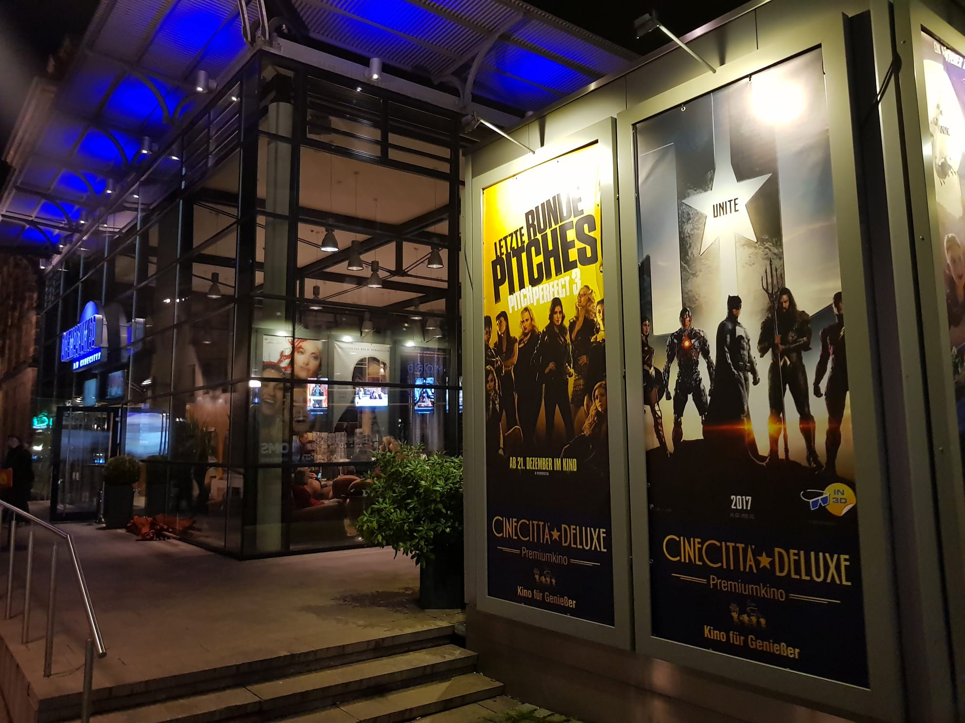 Posters Outside the Cinecittà in Nuremberg, Germany