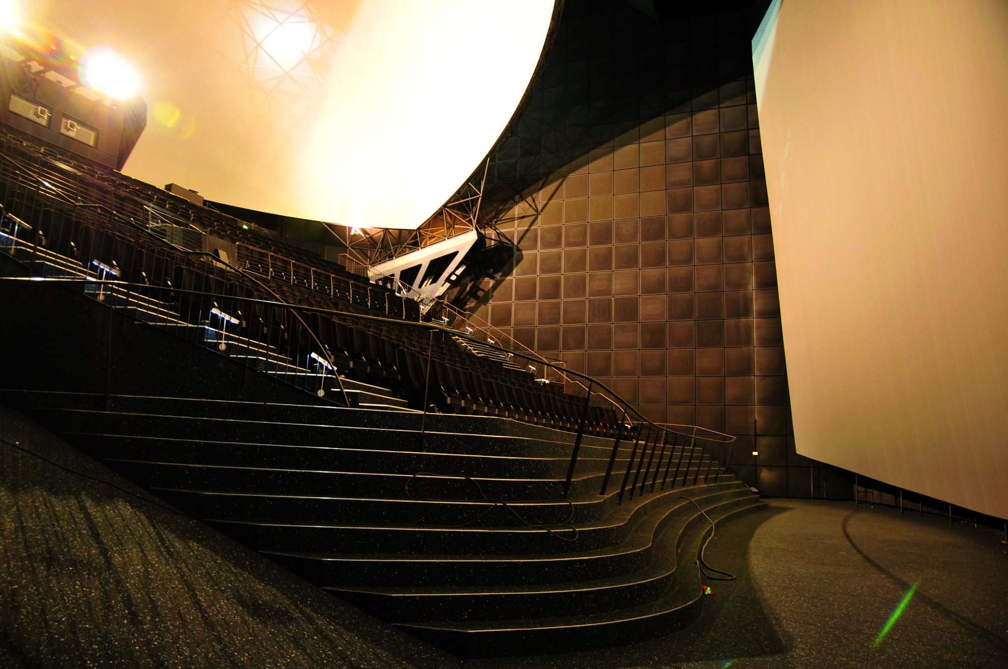 Cinemagnum Auditorium at the Cinecittà in Nuremberg, Germany