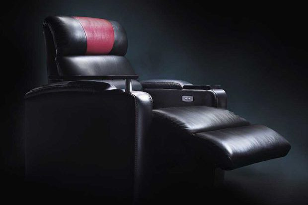 One of Vue's motorised recliner cinema seats. (image: Vue)