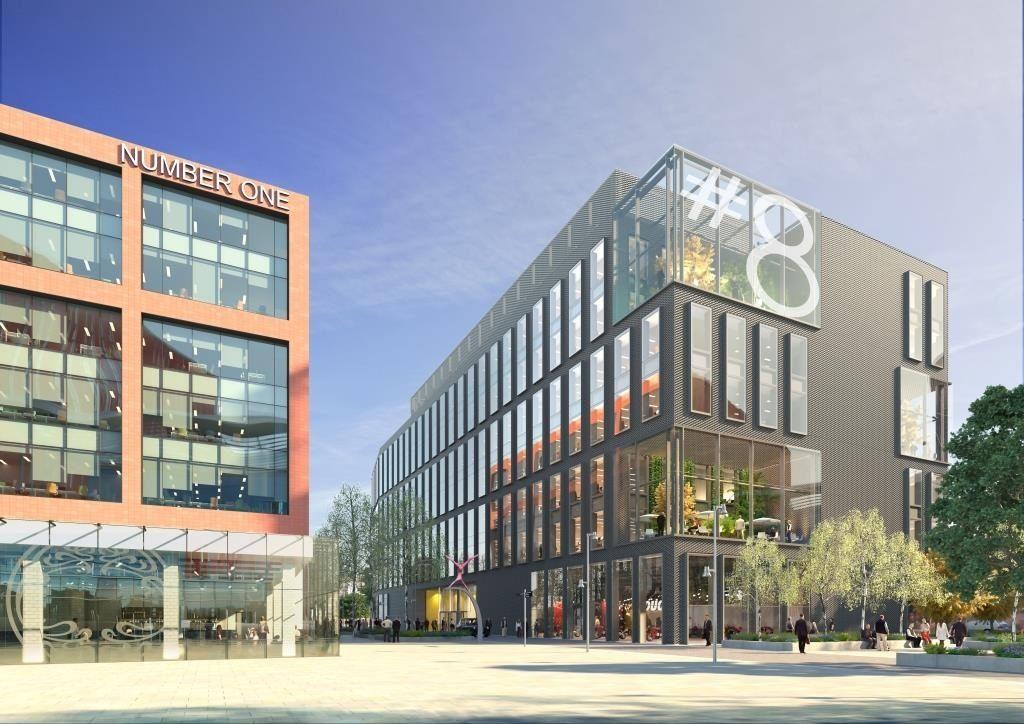 Odeon's future home in Manchester. (image: artist's impression)