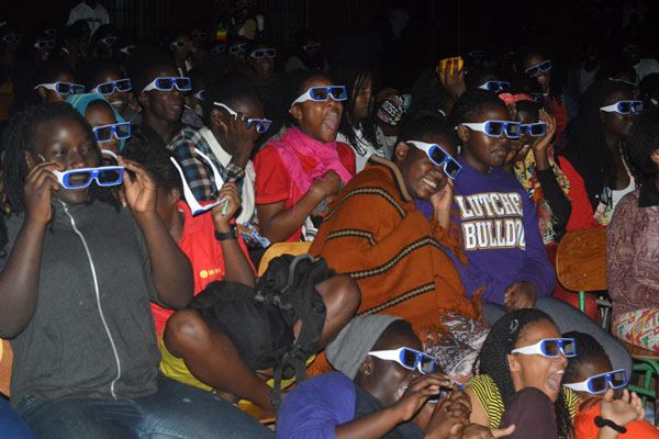 3D Pursuit brings movie magic to the masses. (photo: Daily monitor)
