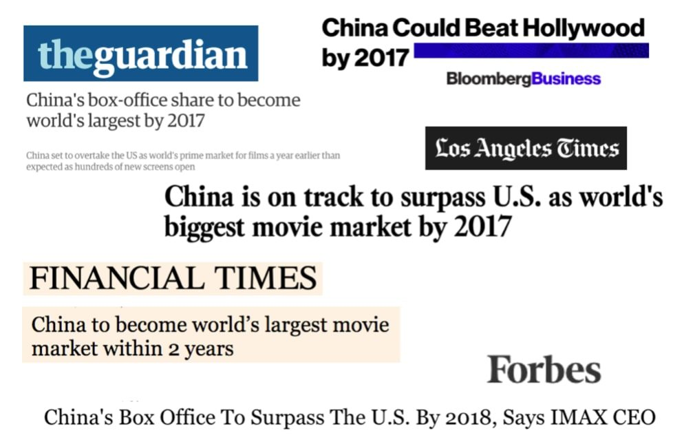 China BO predicted to overtake Us by 2017. (image: Celluloid Junkie)