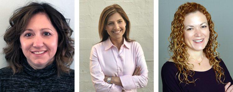 Laura Abele, Susan Cotliar and Adriana Trautman of 20th Century Fox