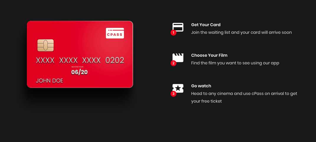 cPass cinema subscription