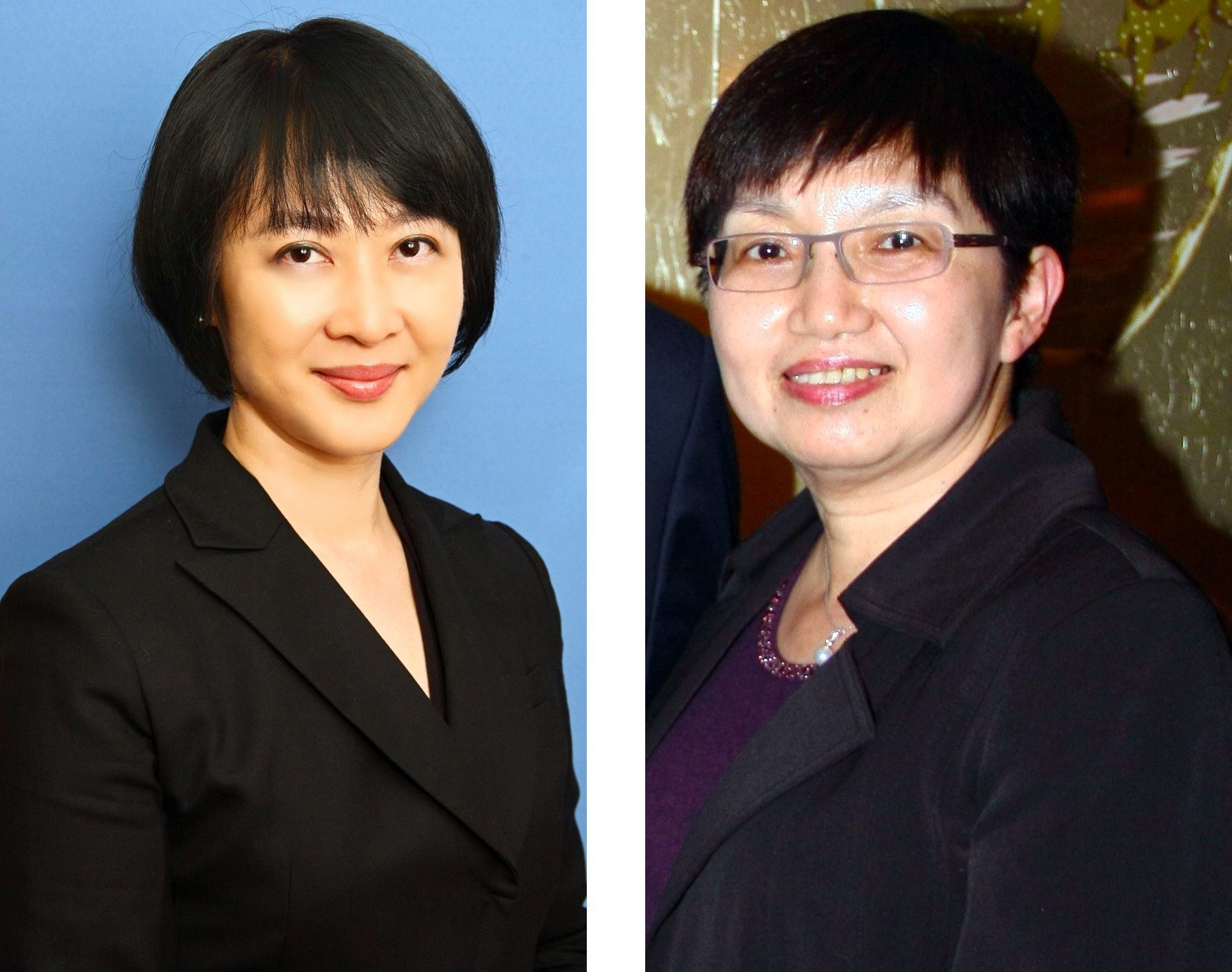 June Wong left and Grace Wong of MCL Multiplex Cinemas