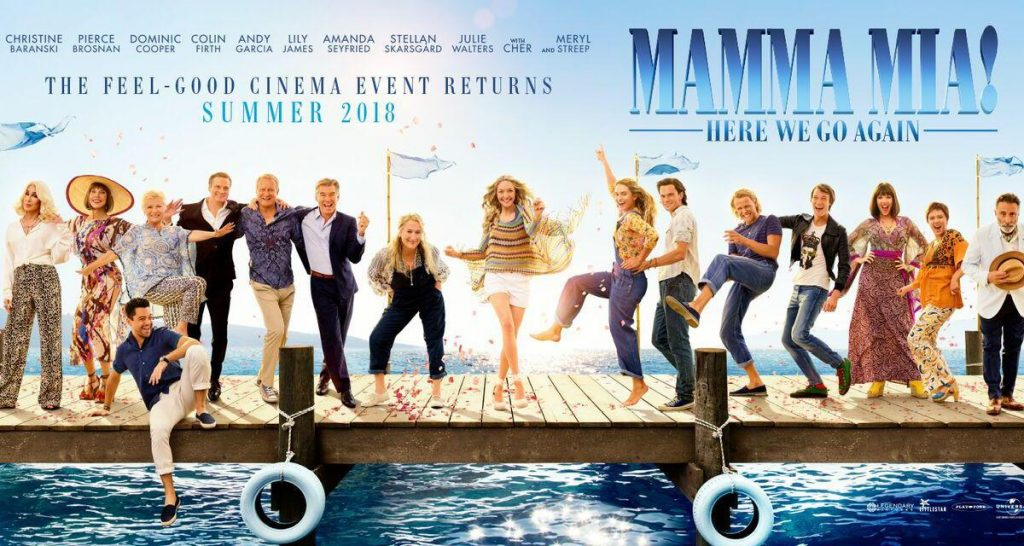Mamma Mia 2 - here we go again. (poster: Universal)