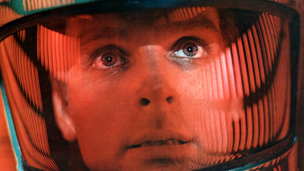 Keir Dullea as Dr. Dave Bowman in 2001: A Space Odyssey