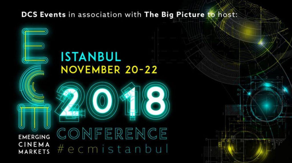 Emerging Cinema Markets 2018 - Istanbul 20-22 Nov