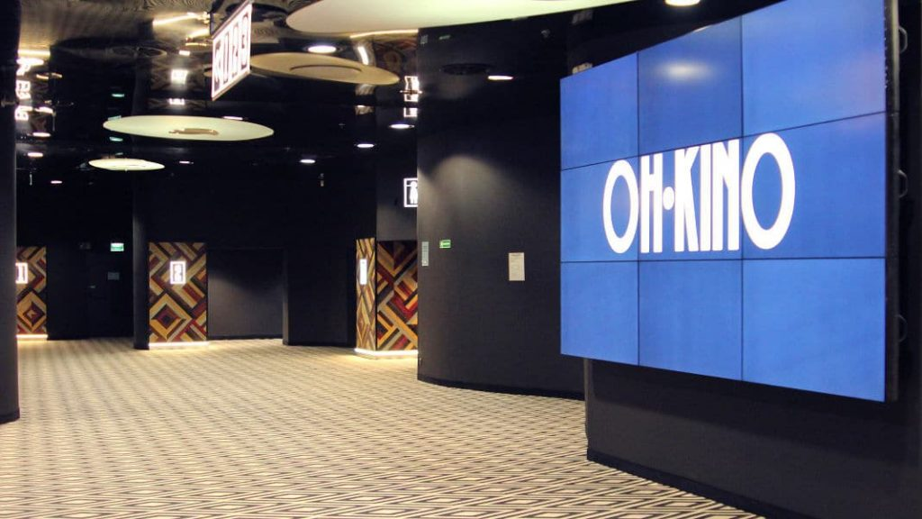 Oh Kino multiplex interior. (photo: Retailnet)