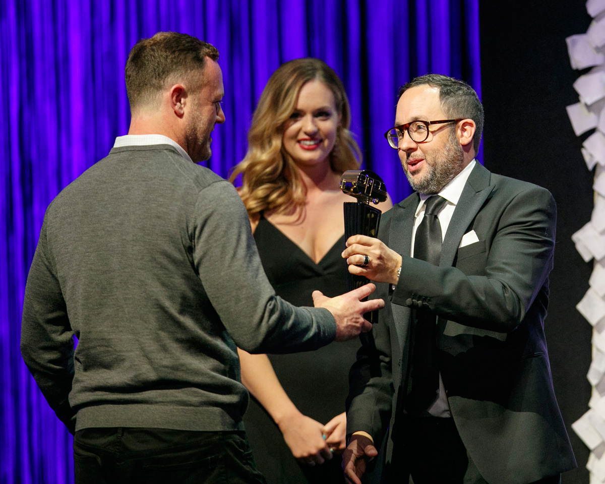 Golden Trailer Awards - Presenter PJ Byrne