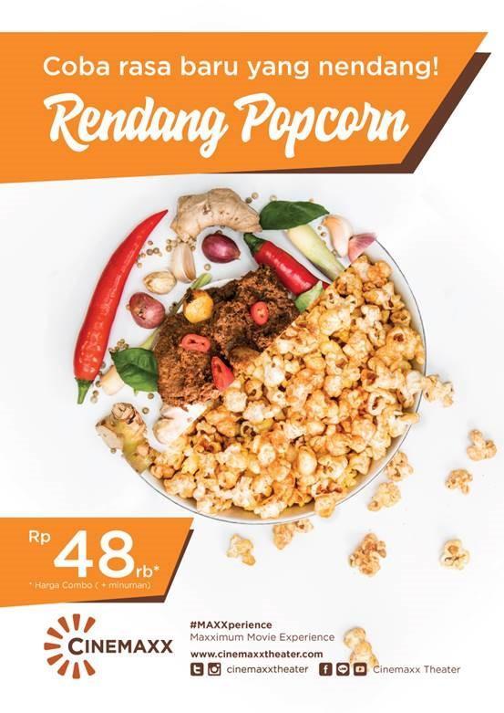 Rendang popcorn.