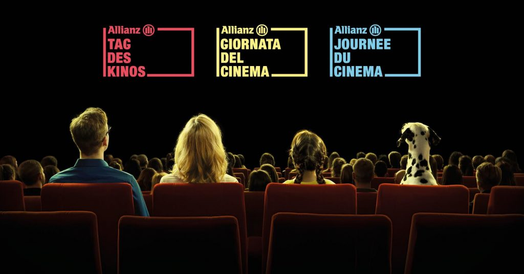Tag des Kinos - cinema for 1/3 of the price. (image: Allianz)