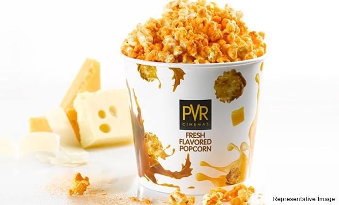 Overpriced? PVR popcorn. (image: PVR)