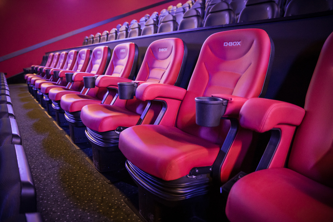 c88635bd66d ... 2018) – D-BOX Technologies Inc., a world leader in immersive  entertainment experiences, is celebrating the recent installation of new D-BOX  motion seats ...