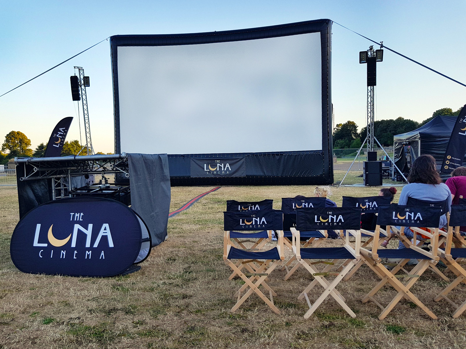 Luna Cinema at Crystal Palace in London, UK