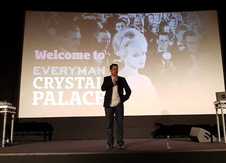 Crispin Lilly, CEO Everyman, at Crystal Palace. (photo: Patrick von Sychowsi / Celluloid Junkie)