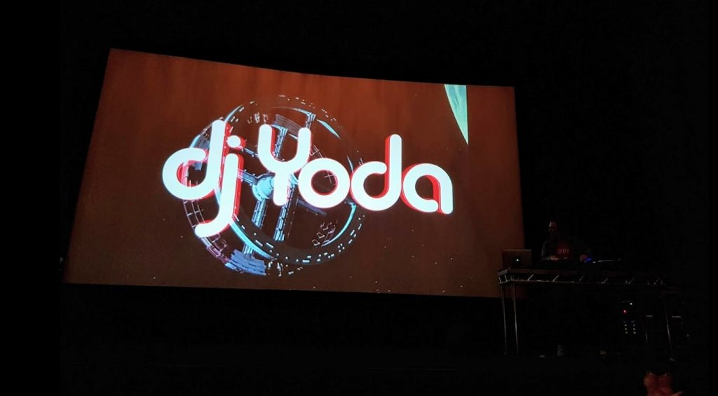 DJ Yoda at Everyman Crystal Palace opening. (photo: Patrick von Sychowski / Celluloid Junkie)