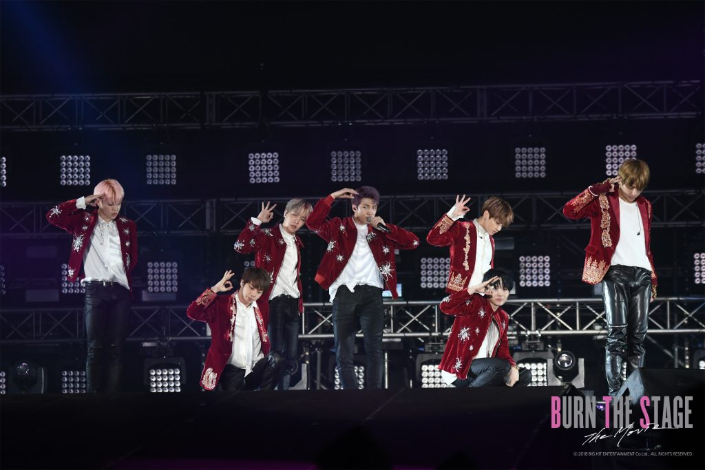 "BTS ""Burn The Stage: the Movie"" (image: Trafalgar Releasing)"