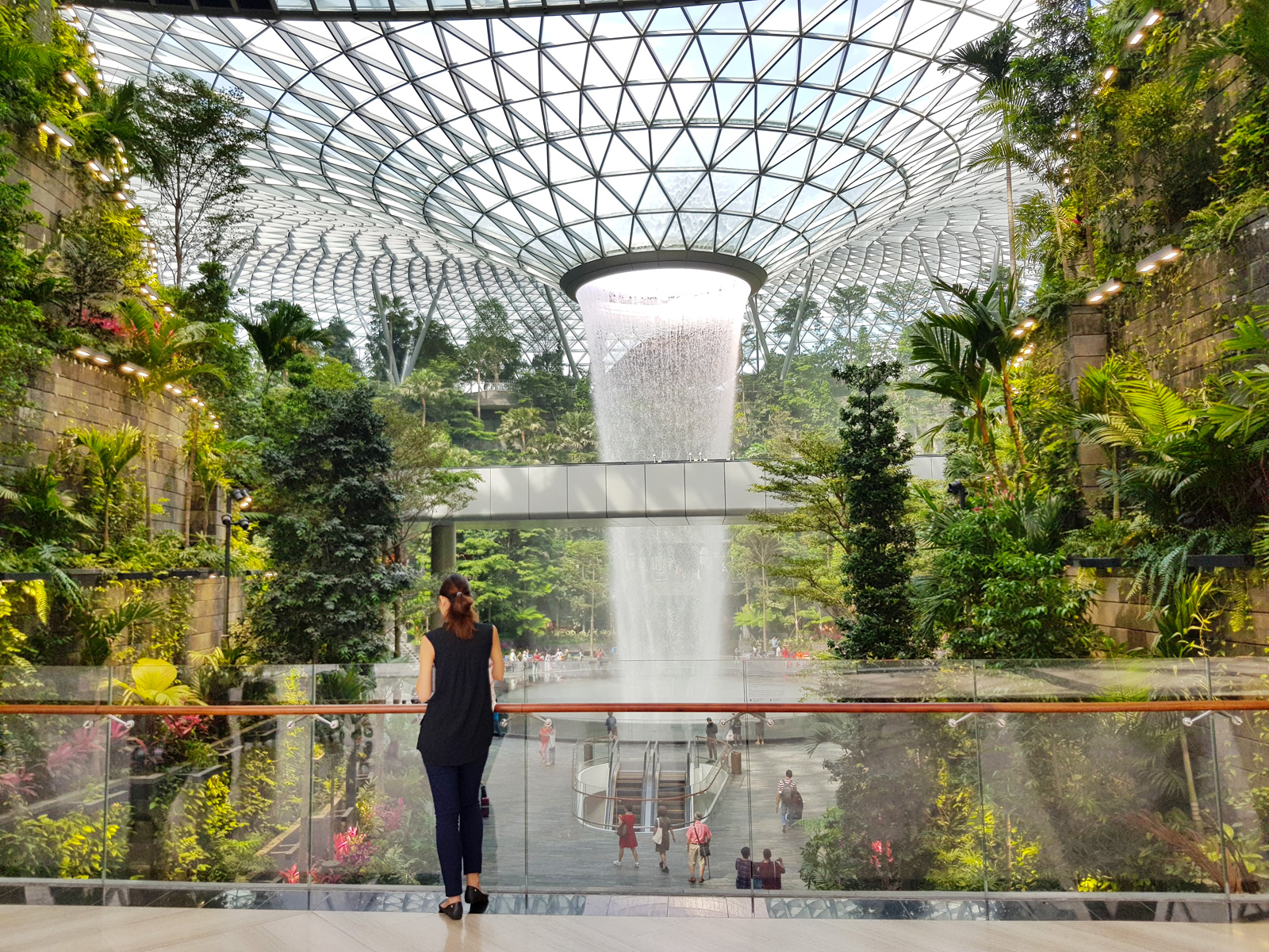 The Jewel at Changi Airport in Singapore