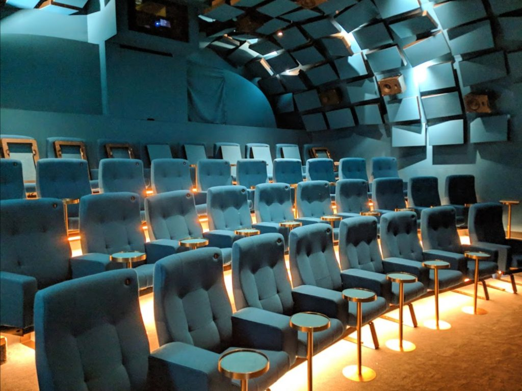 Archlight Cinema in Battersea, London in the UK