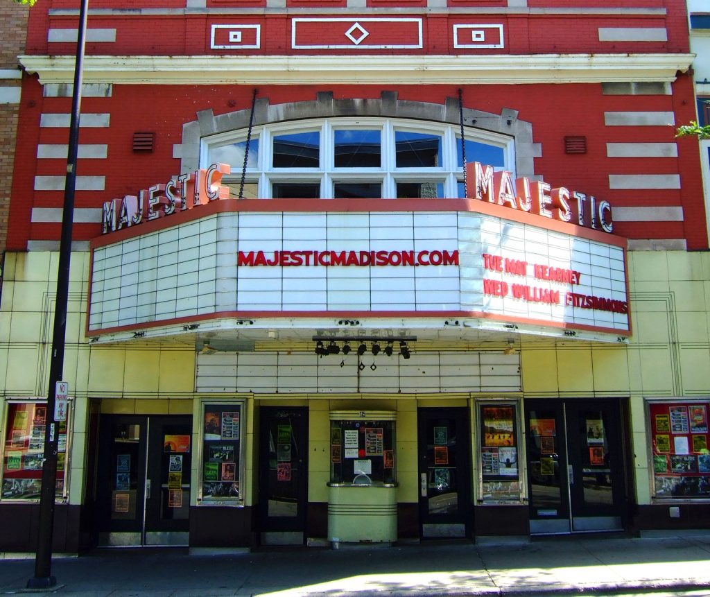 Majestic Theater in Madison Wisconsin