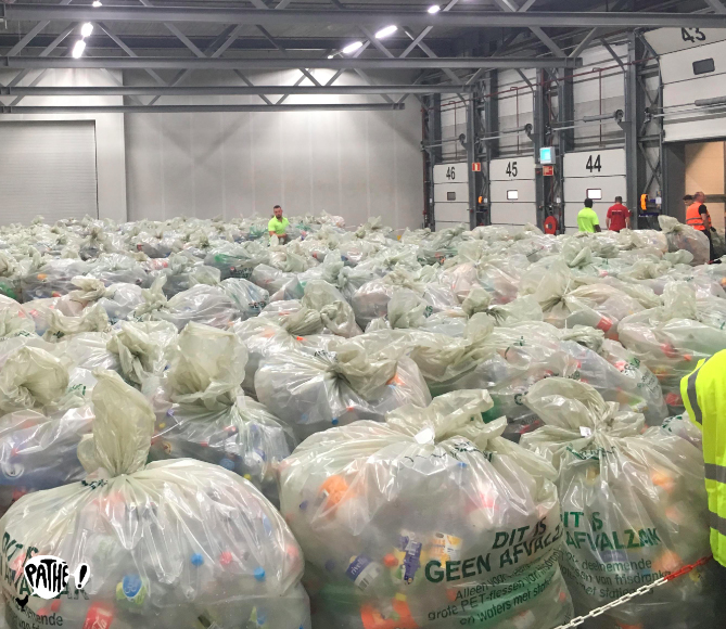 Pathé Nederland's Recycling Facility