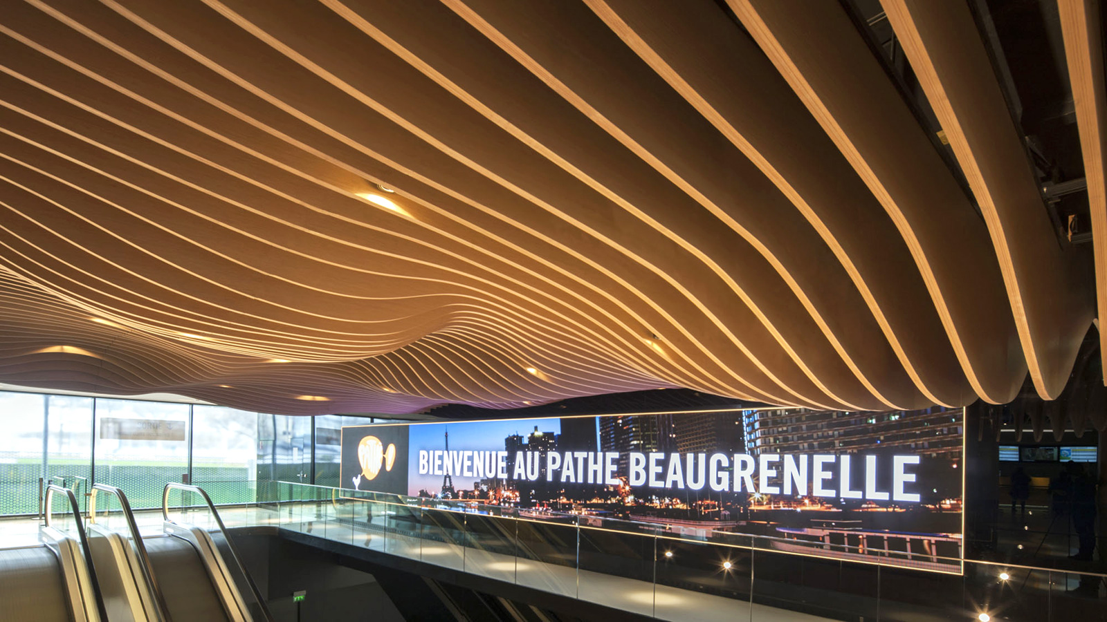 Pathé Beaugrunelle in Paris, France