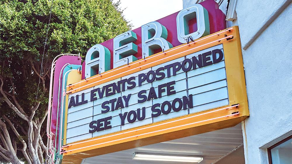 Aero Theatre in Santa Monica, California