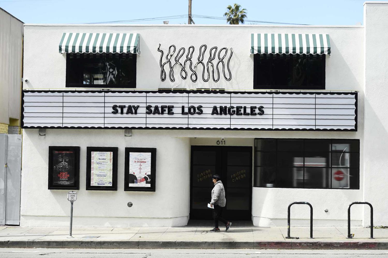 Fairfax Cinema in Los Angeles, California