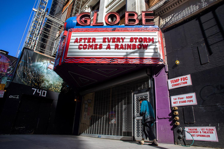 Globe Theatre in Los Angeles, California