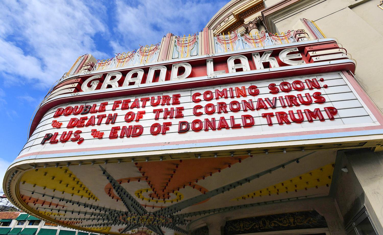 Grand Lake Theatre in Oakland, California