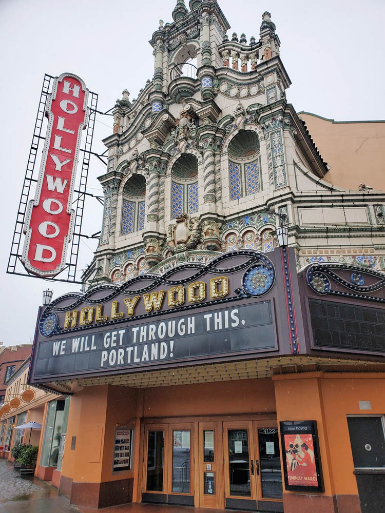 Hollywood Theater in Portland, Oregon