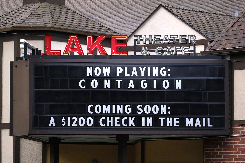 Lake Theater in Oswego, Oregon