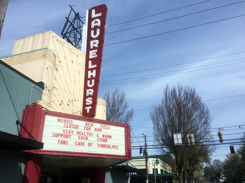 Laurelhurst Theater in Portland, Oregon