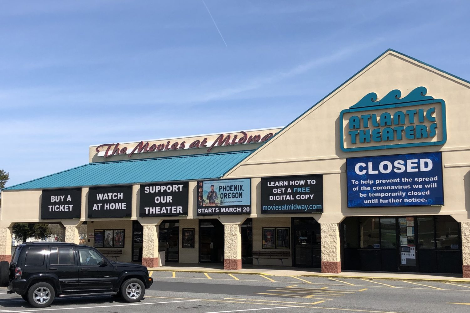 Movies At Midway in Rehoboth Beach, Delaware