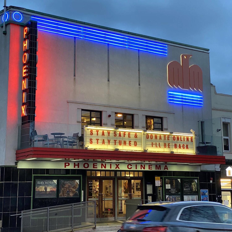 The Phoenix Cinema in London, UK