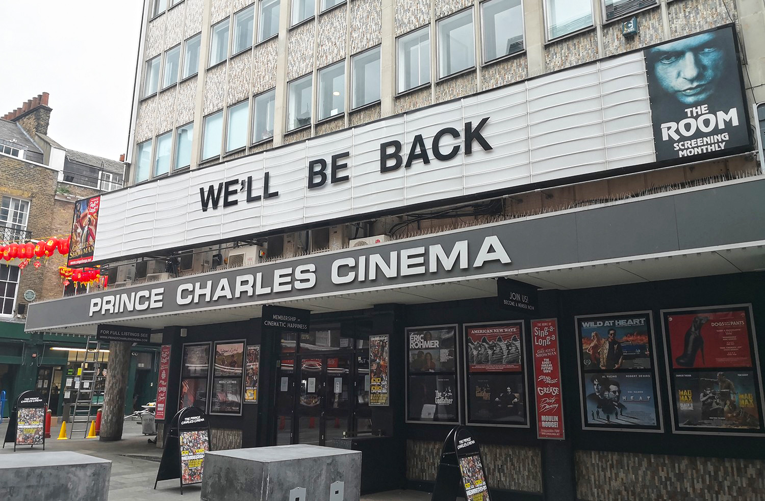 The Prince Charles Cinema in London