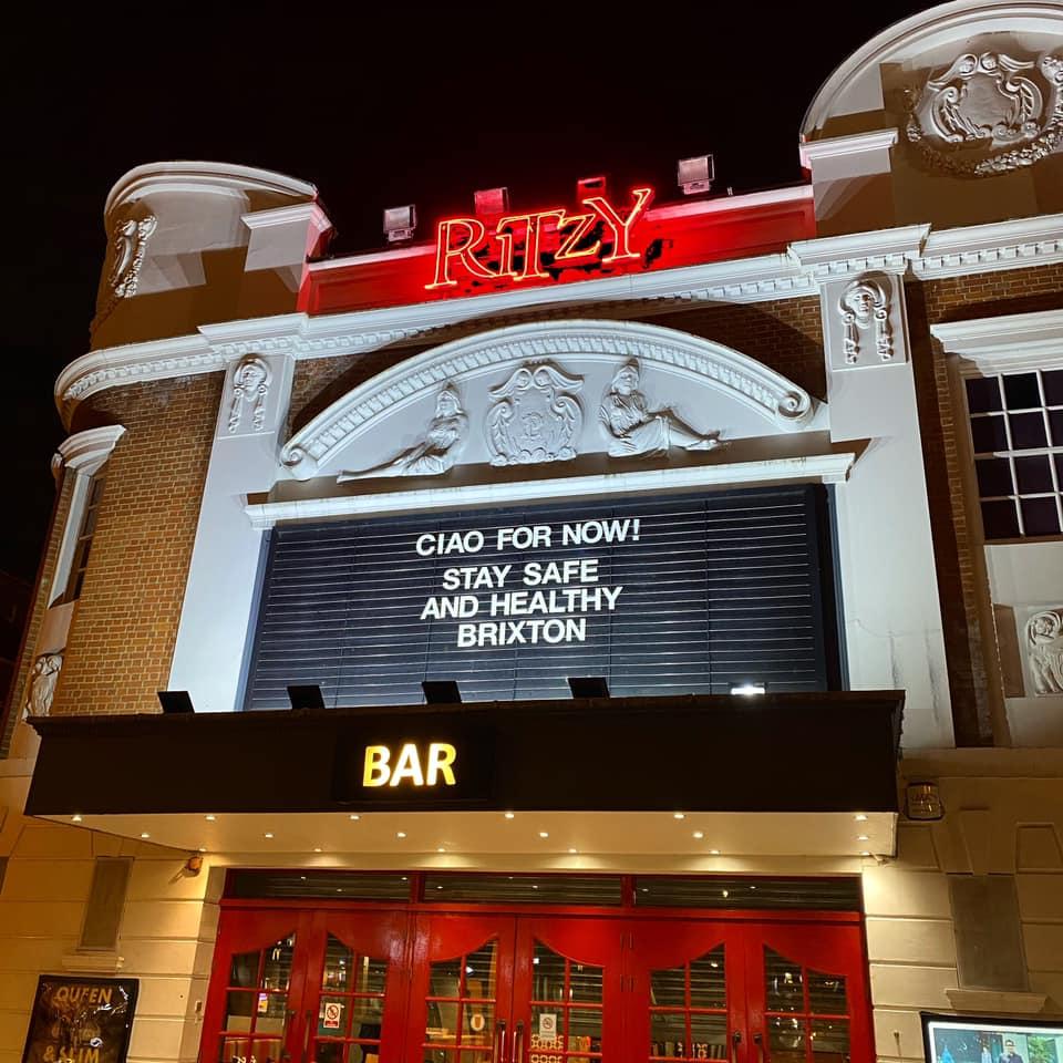 Ritzy Cinema in Brixton, London