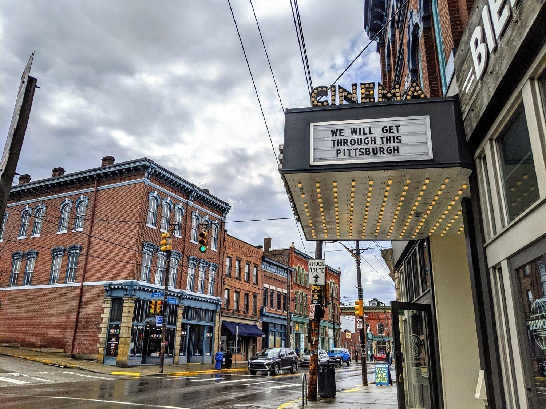 Row House Cinema in Pittsburgh, Pennsylvania
