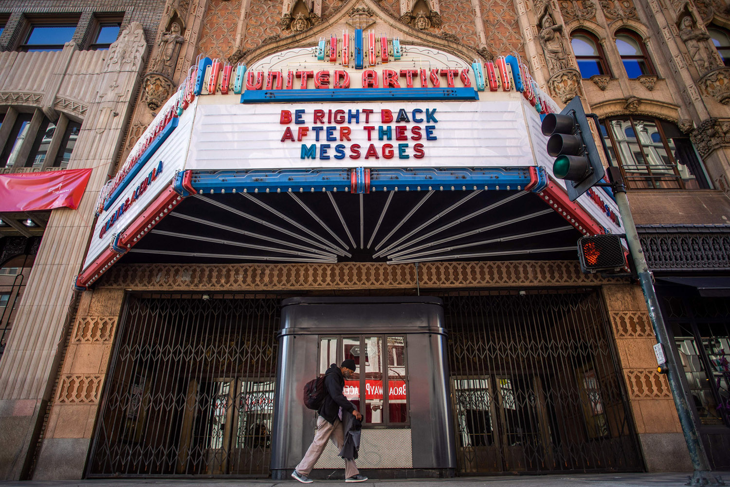 United Artists Theater at the Ace Hotel in Los Angeles, California