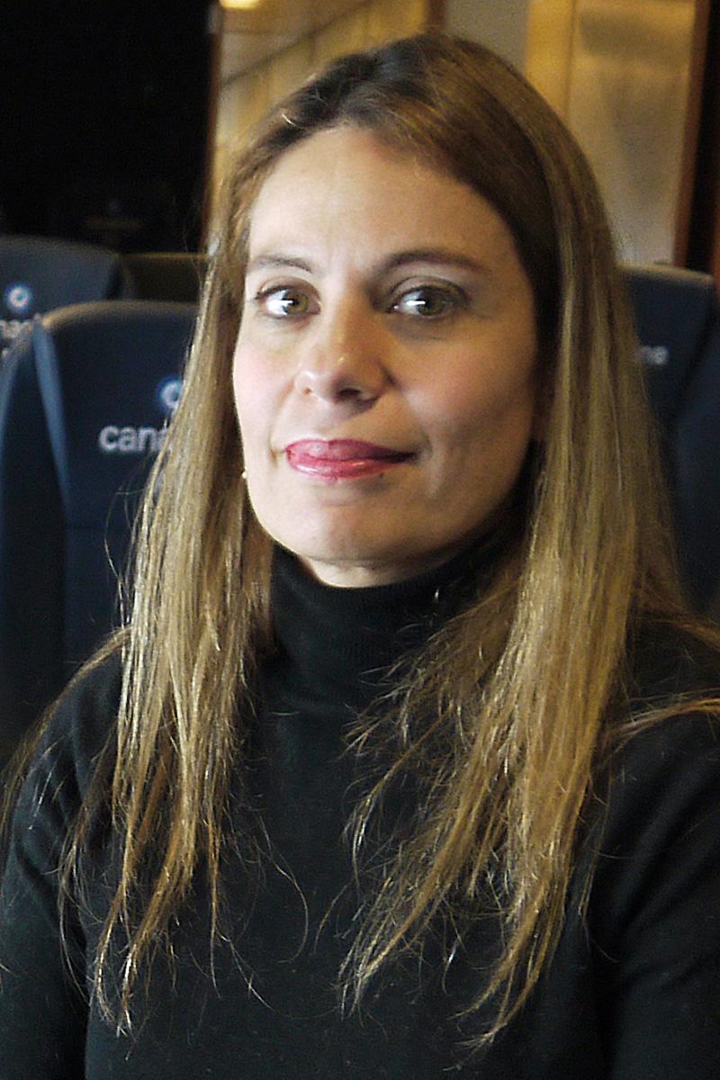 Tabata Vilar Villa - Directora General de la Camara Nacional de la Industria Cinematografica (Canacine)
