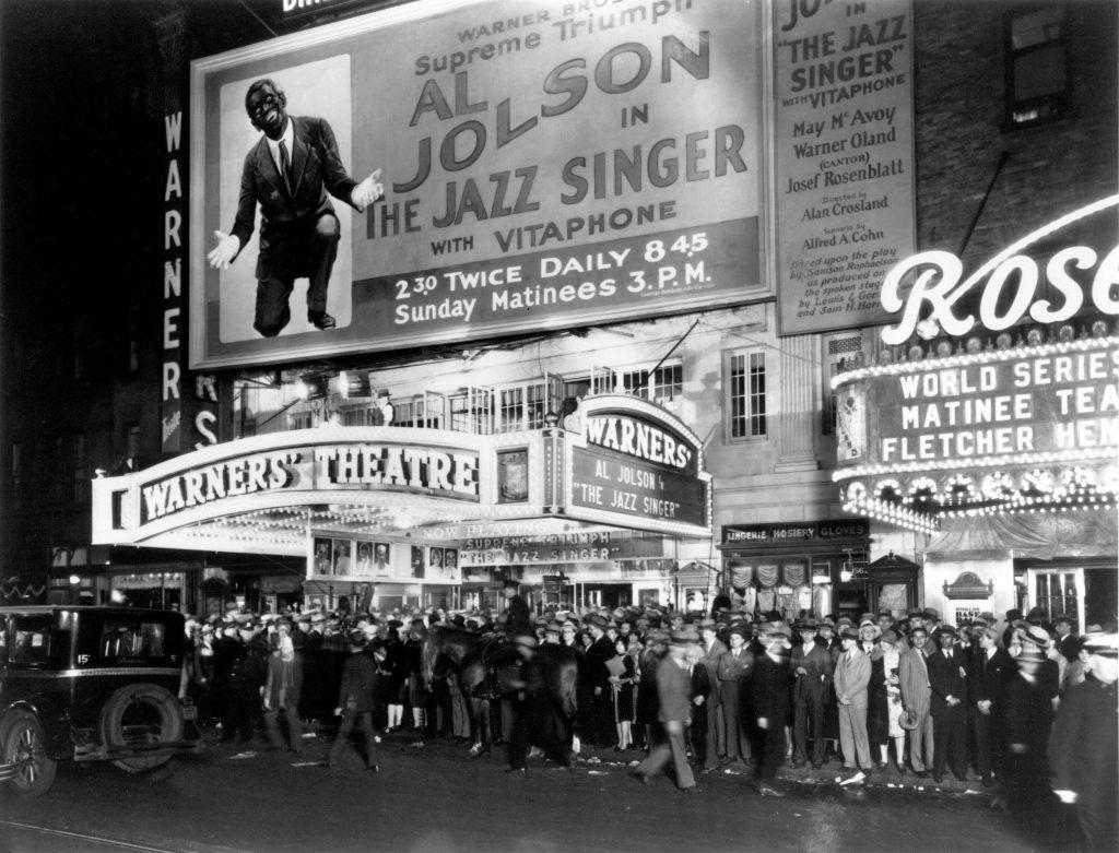 The Jazz Singer Premiere in 1927