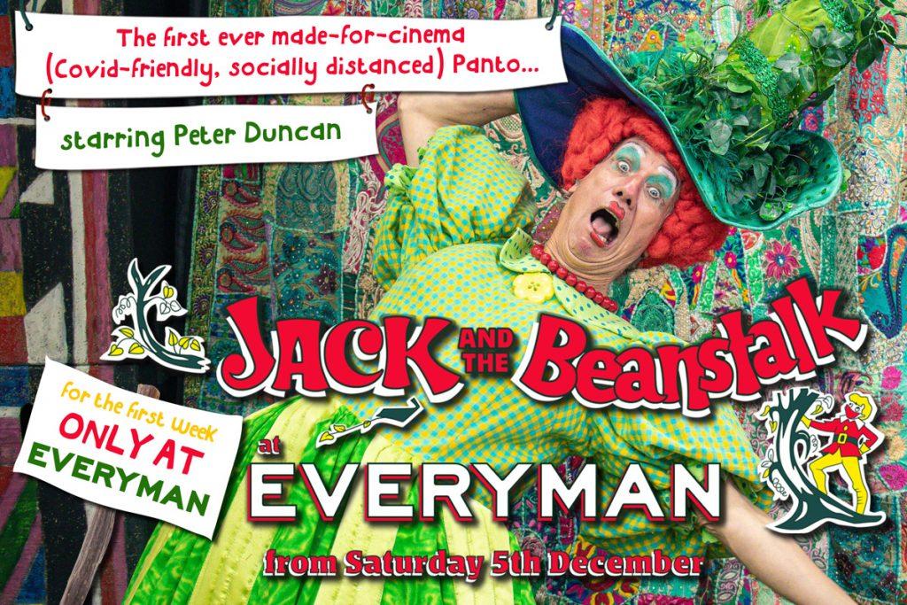 Peter Duncan's Jack and the Beanstalk Pantomime at Everyman Cinemas