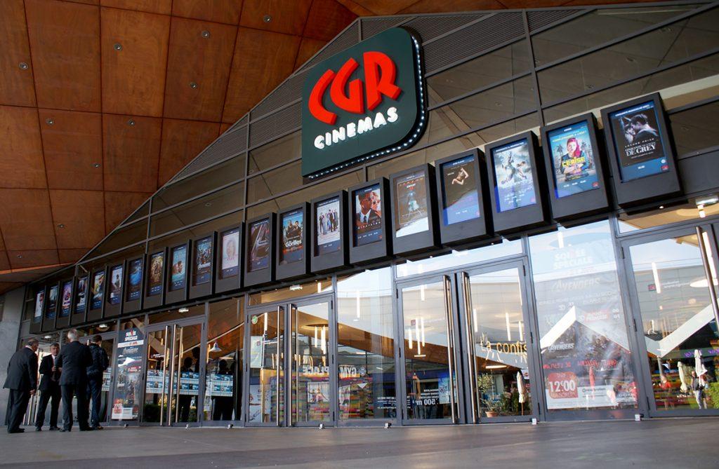 Digital Signage at CGR in France
