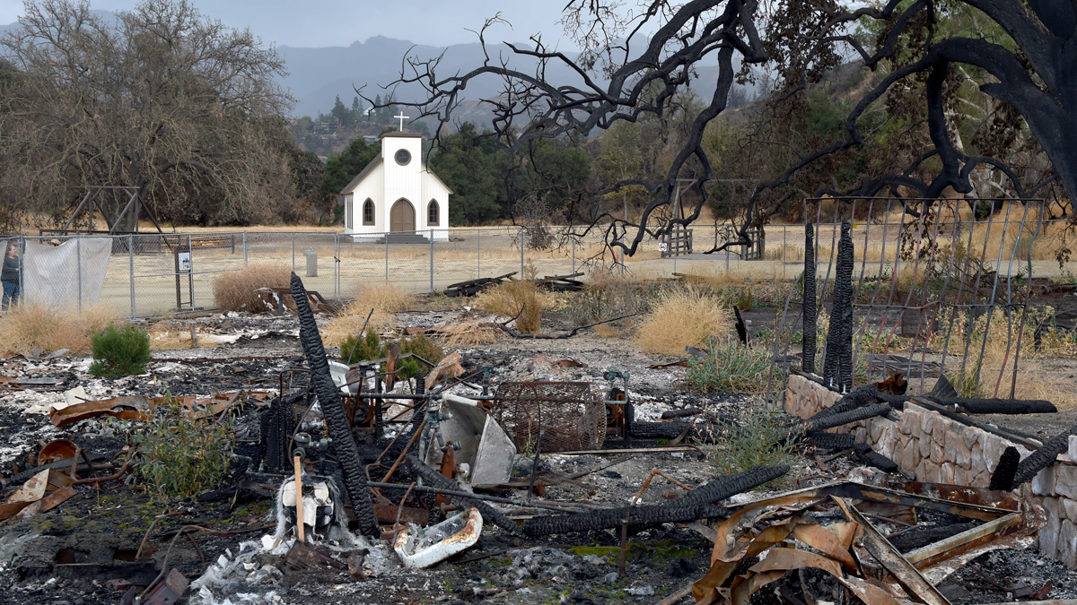 Paramount Ranch After The Woolsey Fire